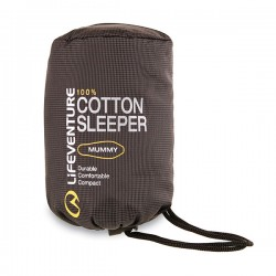Lifeventure Cotton Sleeper wkładka do śpiwora