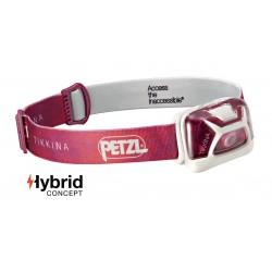 Latarka czołowa Tikkina Hybrid Petzl różowa