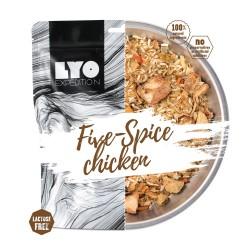 LYO Kurczak pięciu smaków z ryżem