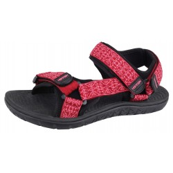 Sandały damskie Strap HANNAH czerwone